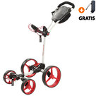Big Max Blade Quattro Golftrolley, Wit/Rood