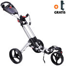 Fastfold 360 Golftrolley, Zilver