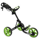 Clicgear 3.5+ Golftrolley, Zwart/Lime