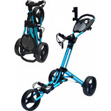 Fastfold Trike Deluxe Golftrolley Blue