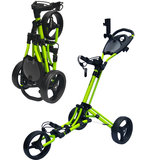 Fastfold Trike Deluxe Golftrolley Lime