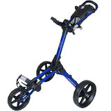 Fastfold Square Golftrolley Blauw