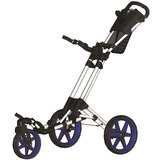 Fastfold Flex 360 Golftrolley Wit/Blauw