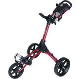 Fastline Compact Golftrolley Bordeaux Rood