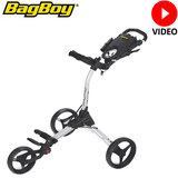 BagBoy Compact 3, Zilver