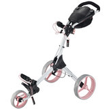 Big Max IQ+ Golftrolley, Wit/Roze