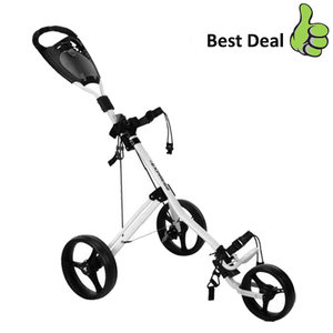 Fastfold Express Golftrolley, Wit