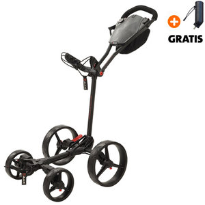 Big Max Blade Quattro Golftrolley, Zwart