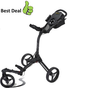 BagBoy Tri-Swivel II Golftrolley, Mat Zwart